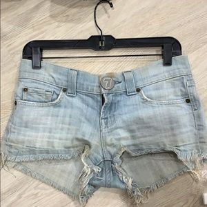 7 for all Mankind Jean shorts 26